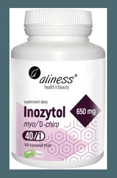 Inozytol Myo/D-chiro 40:1 650 mg